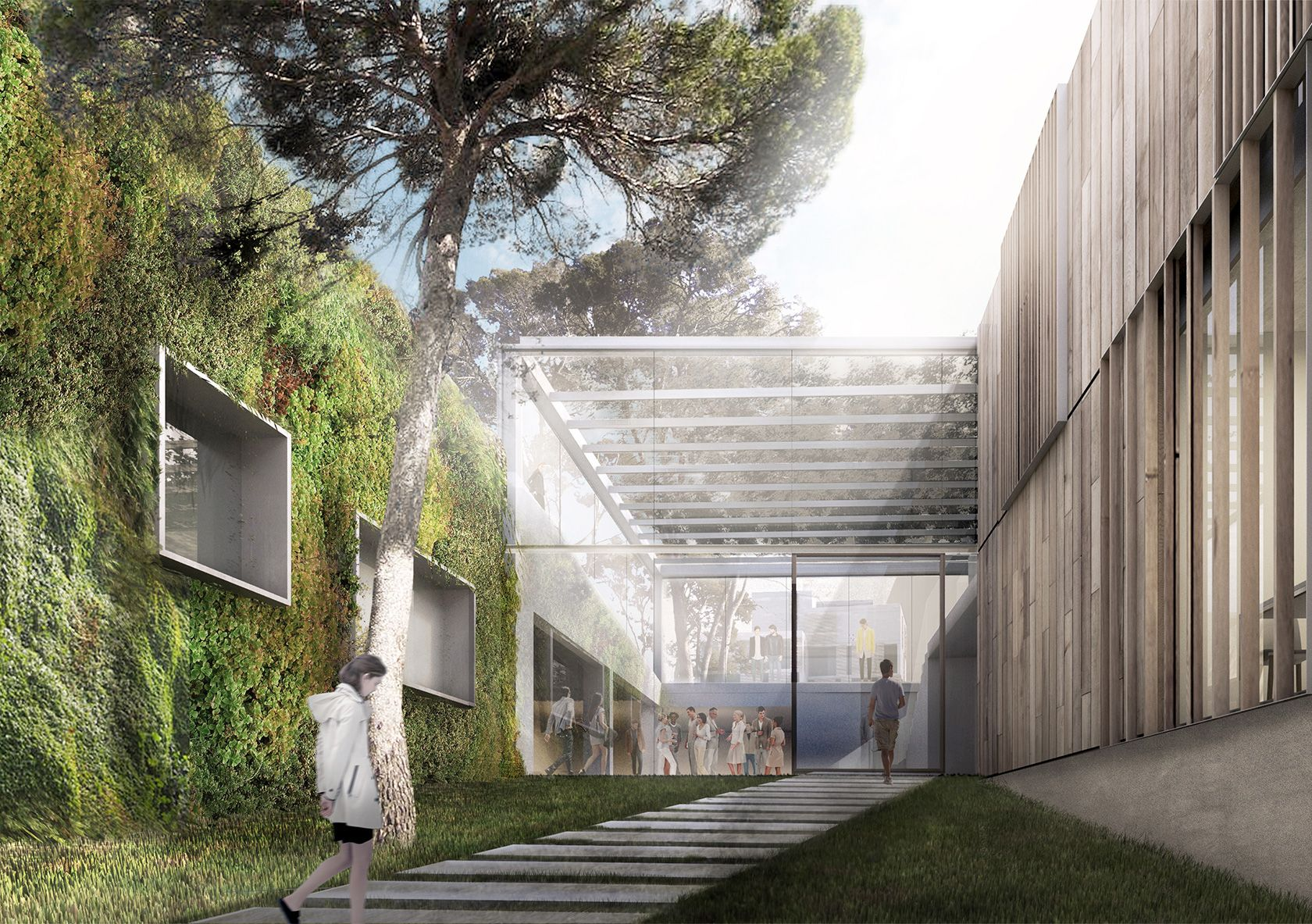 valldoreix public spaces landscaping architecture anna noguera