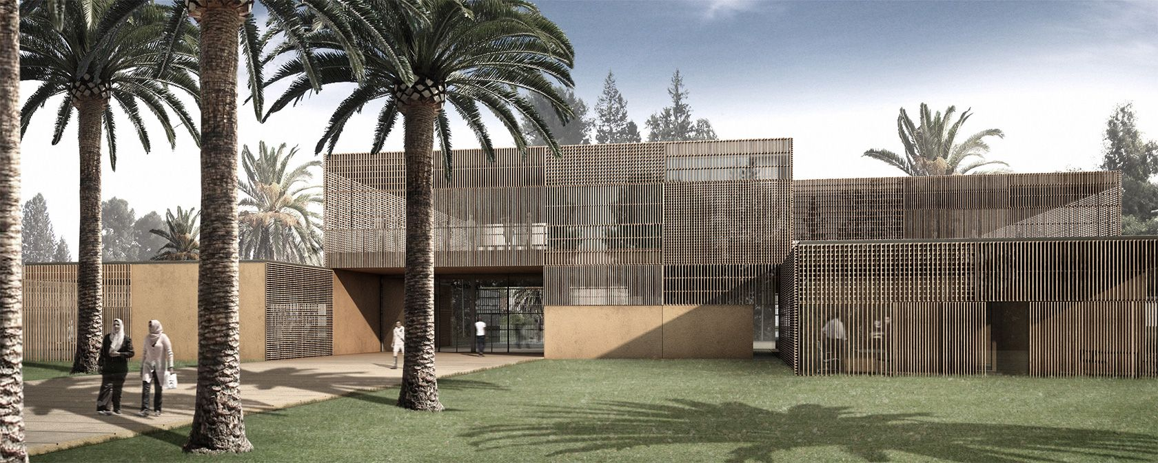 club ocp public facilities architecture anna noguera